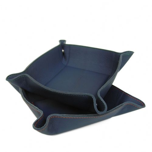 Luxury Leather Coin Tray